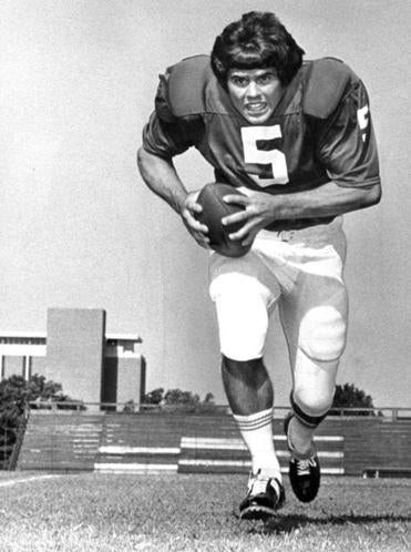 Mr. Davis was 32-1-1 as quarterback from 1973-'75.