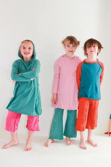 Kids with tactile sensitivity appreciate the lack of tags, seams, zippers, and buttons in Teres Kids clothes.