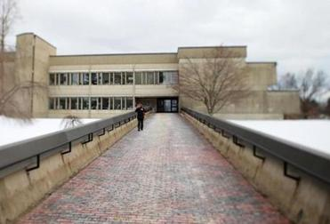 UMass Amherst Whitmore Administration Building.