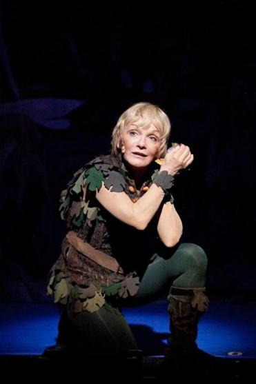 Cathy Rigby as Peter Pan.