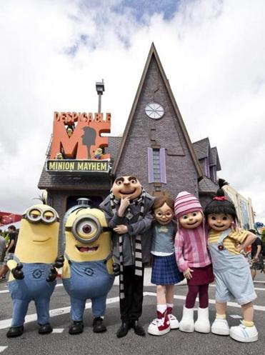 """Despicable Me Minion Mayhem"" is now open at Universal Orlando Resort."