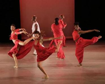 "The company danced ""Grace"" by choreographer Ronald K. Brown."