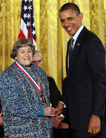 Yvonne Brill was awarded the National Medal of Technology in 2011.