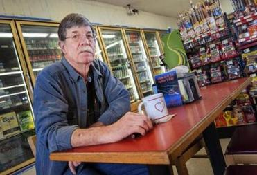 """There's a lot of things you shouldn't compromise on — period,"" said Charles Leet, who runs a television and appliance repair shop."