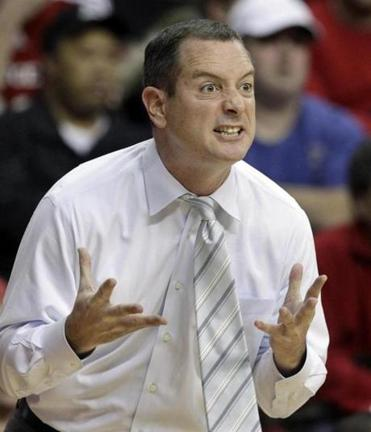 Coach Mike Rice's job is in jeopardy over his treatment of Rutgers players.