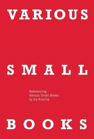 """Various Small Books"" by Ed Ruscha"