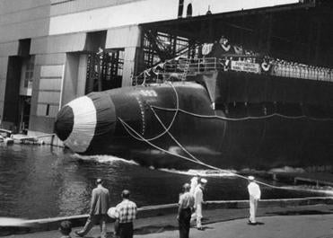 The nuclear submarine was undergoing sea trials when it sank off Cape Cod in the worst US submarine disaster.
