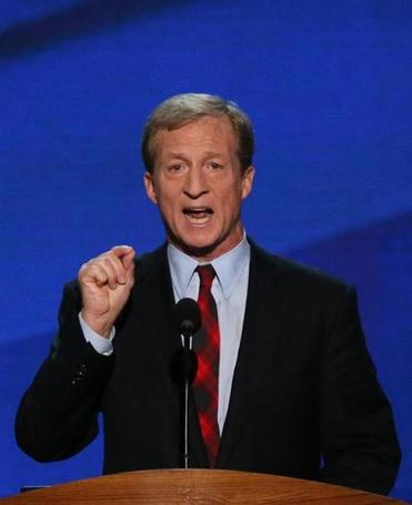 Thomas Steyer is critical of Stephen Lynch.