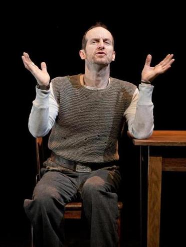 "Denis O'Hare in ""An Iliad.''"