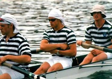 Before his injury, Pollock was a rower.