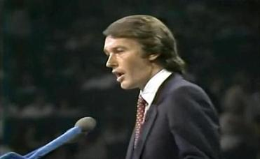 Edward Markey spoke at the 1980 National Democratic National Convention.