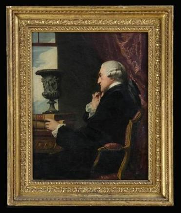 "An unnamed oil-on-canvas portrait signed ""Copley RA"" and dated 1790 was sold for $85,000 at an auction. The painting is identical to Copley's portrait of William Ponsonby, the second earl of Bessborough, according to The Harvard Crimson. Stair Galleries's website"