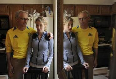 Joe Stavas and his daughter Natalie, both doctors and Marathon runners, shook off fatigue to offer first aid to the wounded and exhausted.