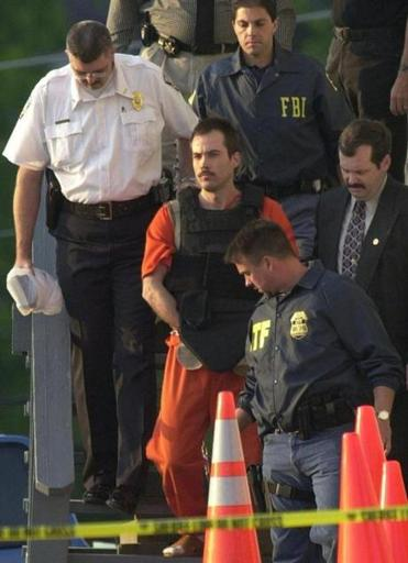Eric Rudolph pleaded guilty to the 1996 pipe bombing at the Atlanta Olympic Games.