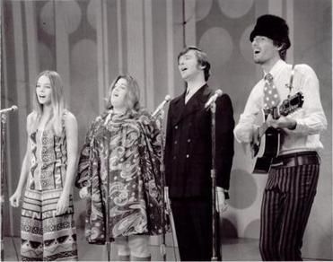 Music acts in which multi-part harmonies were a staple include the '60s bands the Mamas & the Papas.
