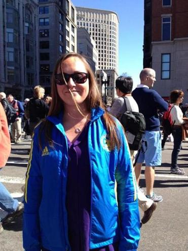 Kelly Sylvester said she wore her Marathon jacket to dedicate it to the people who lost their lives.