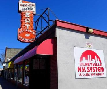 Although the original shop was around the corner, the Olneyville Square branch remains the mother ship for the mini-chain of Olneyville New York System, which has other outlets in Cranston and North Providence.