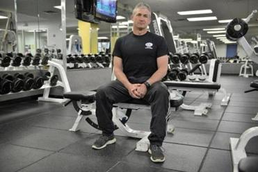 Carrick Pell, a trainer at the Boston Sports Club, lost about 50 hours of income.