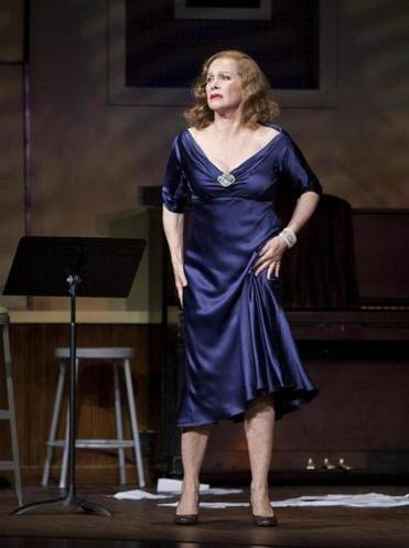 "Stefanie Powers plays Tallulah Bankhead in ""Looped,'' at the Cutler Majestic Theatre."