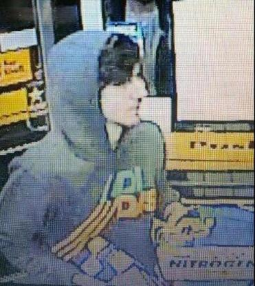 Dzhokhar Tsarnaev's image from a convenience store camera.