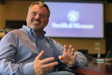 James Debney, CEO of Smith & Wesson.
