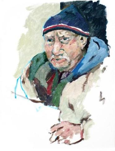 panhandlers of harvard square an essay in oil paintings melvin