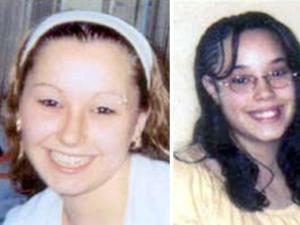 Amanda Berry (left) and Gina DeJesus were apparently held in the house with Michelle Knight since their teens.