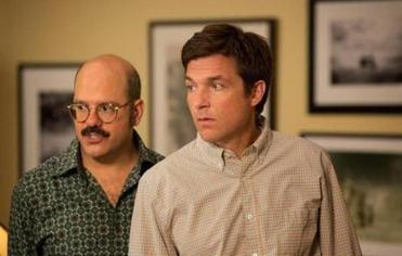"David Cross (left) and Jason Bateman from the new season of ""Arrested Development"" out next Sunday."