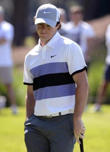 Rory McIlroy had his first under-par round at The Players, shooting a 66.
