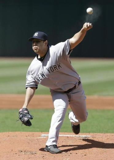 Yankees rookie Vidal Nuno fired five innings of three-hit ball in Game 2 of a doubleheader against the Indians.