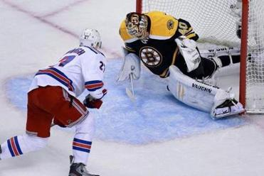 In nine games, Tuukka Rask has posted a 2.32 goals-against average and a .928 save percentage.