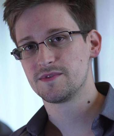 Edward Snowden awaits in Russia.