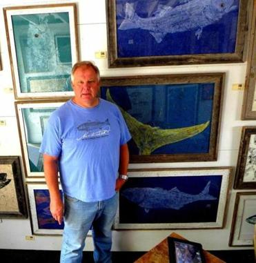 Peter Van Dingstee of Pete's Fresh Fish Prints.