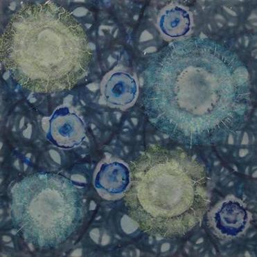 """Cell Motion 1"" by Kay Hartung."