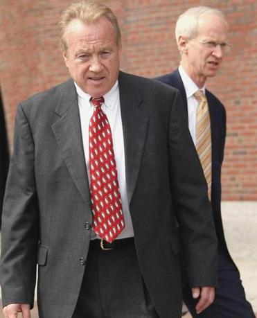 Disgraced Chelsea housing chief Michael E. McLaughlin (left) is slated to plead guilty to state campaign finance charges today, court records indicate.