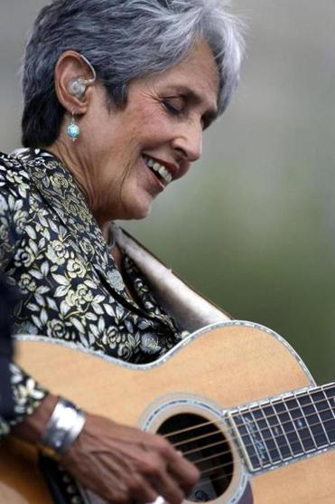 Joan Baez in 2009.