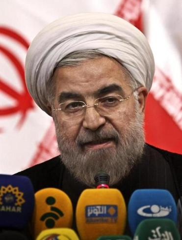 Iranian president-elect Hasan Rowhani has pledged a ''path of moderation.''