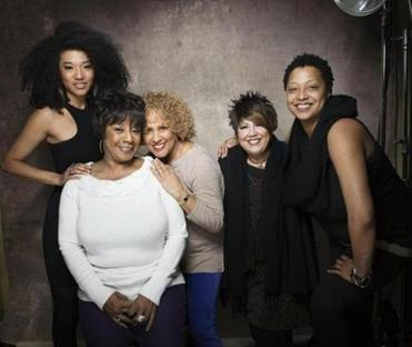"From left: Judith Hill, Merry Clayton, Darlene Love, Tata Vega, and Lisa Fischer are among the most prominently featured singers in ""20 Feet From Stardom."""