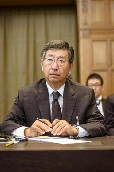 Koji Tsuruoka said Japan's whaling is not illegal.