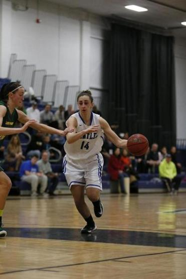 Lauren Battista was an All-American forward at Bentley.