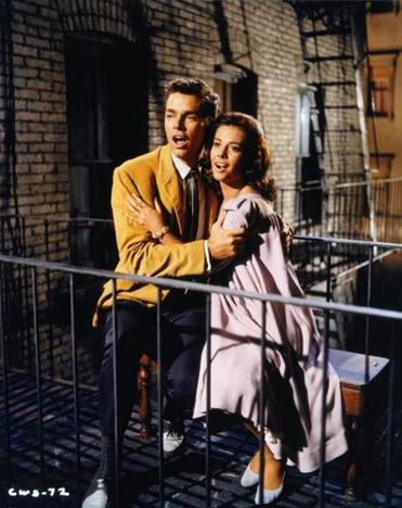 Richard Beymer and Natalie Wood in the classic film, which will be accompanied by a live performance of Leonard Bernstein's score.