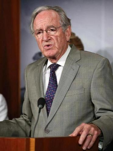 Senator Tom Harkin  questioned whether the president could delay the employer requirement.