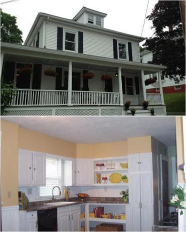 For sale american foursquare homes in amesbury and newton for American foursquare homes for sale