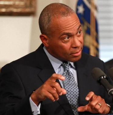 Governor Deval Patrick signed into law the $33.6 billion annual state budget on Friday.