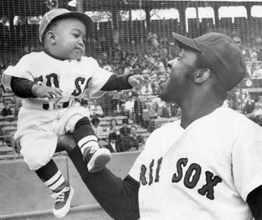 Teammates also appreciated the defensive prowess that earned the sure-handed first baseman, shown hoisting his son George in 1970, eight Gold Glove awards.