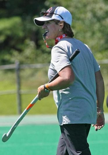 NU field hockey coach Cheryl Murtagh.