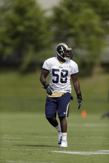 St. Louis Rams linebacker Jo-Lonn Dunbar was suspended Wednesday for four games for violating the NFL's policy on performance-enhancing drugs.