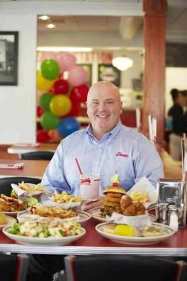 New CEO of Friendly's Ice Cream, John Maguire.