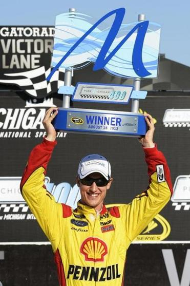 Joey Logano's close win capped a strong weekend for Ford in Michigan.