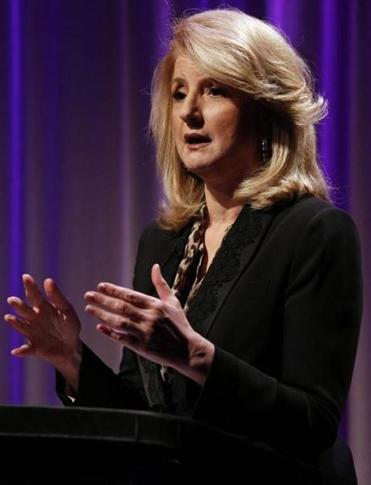 Arianna Huffington, founder of the Huffington Post.